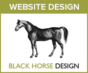 Black Horse Design Website Design (Cheshire Horse)
